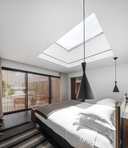 Room with a skylight