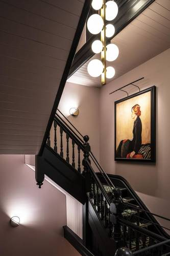 Staircase in the Guest House