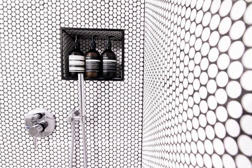Penny tiles we love.