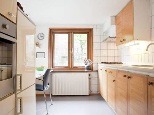 The small cosy kitchen