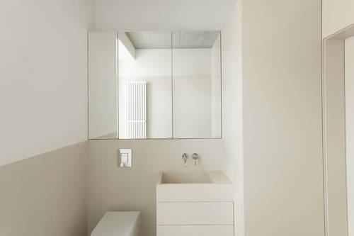 Simple and beautiful bathroom