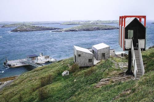 The arctic hideaway cabins